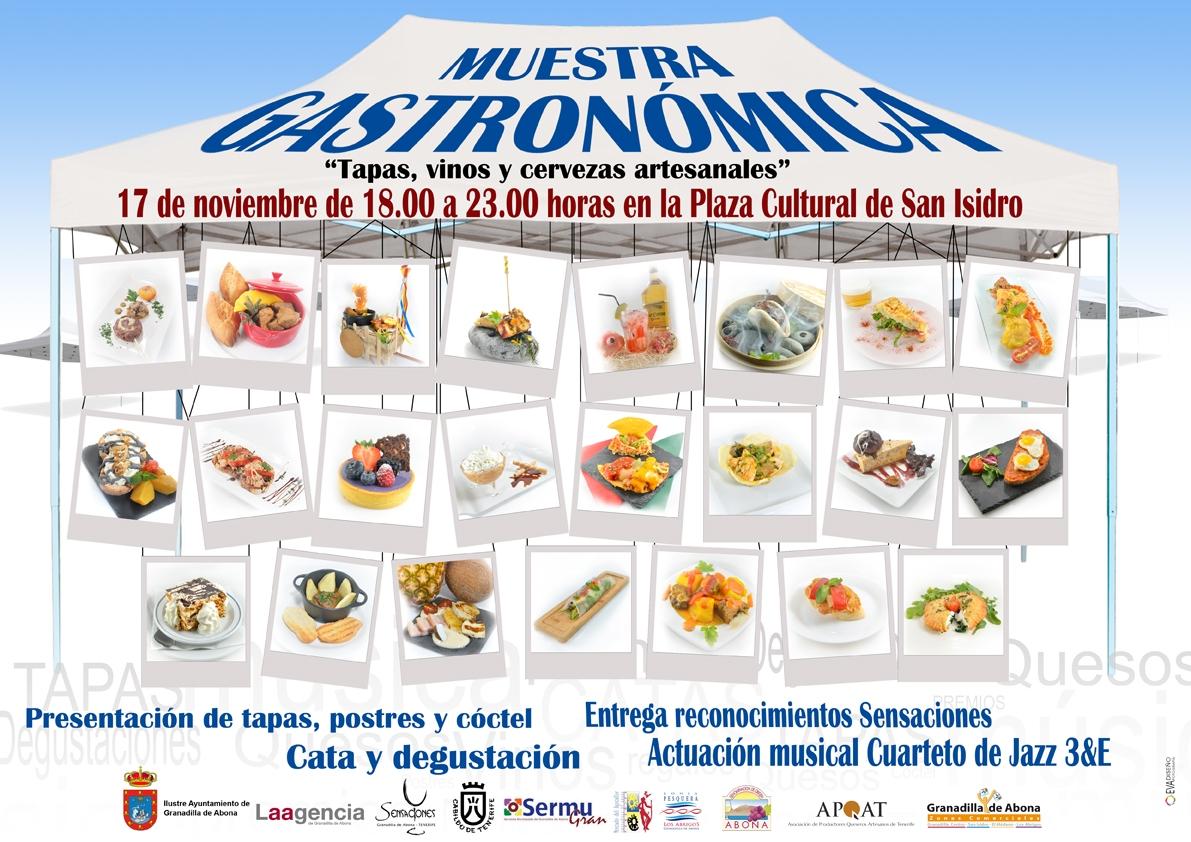 Cartel DINA4 Muestras